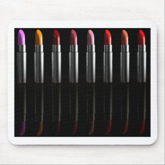 Lipstick row mouse pad