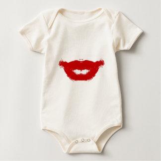 Lipstick Smudge on Tissue Baby Bodysuit