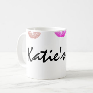Lipstick Stained Personalized Mug