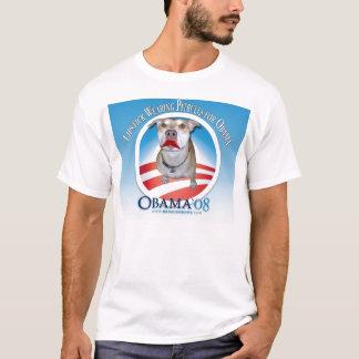 Lipstick Wearing Pitbulls for Obama T-Shirt