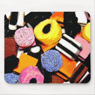 liqorice allsorts mouse pad