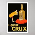 Liqueur Crux 1923 (Restored vintage french Ads) Poster