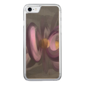 Liquid Amethyst Pastel Abstract Carved iPhone 7 Case
