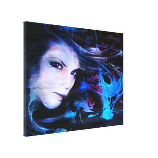 """Liquid..."" ArteKaos Wrapped Gallery Wrapped Canvas"