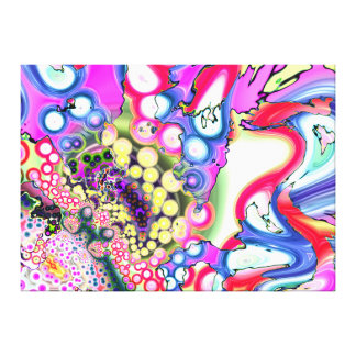 Liquid Berries Gallery Wrap Canvas