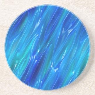 Liquid Blue Coaster
