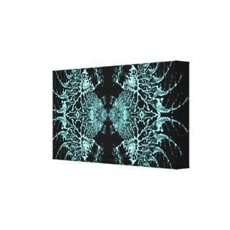 Liquid Blue Web Canvas Prints
