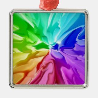 Liquid Colour Christmas Ornament