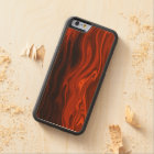 Liquid Fire by Shirley Taylor Carved Maple iPhone 6 Bumper Case