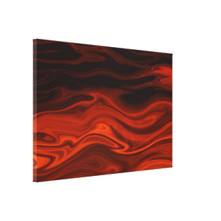 Liquid Fire by Shirley Taylor Gallery Wrap Canvas