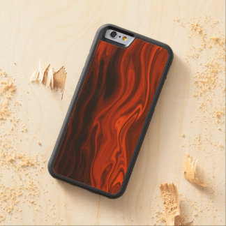 Liquid Fire by Shirley Taylor Maple iPhone 6 Bumper Case
