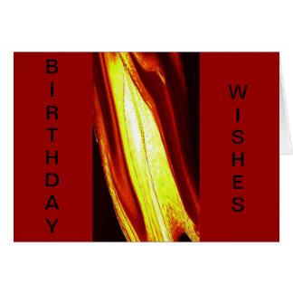 LIQUID FIRE CARD