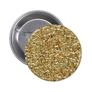 Liquid Gold 6 Cm Round Badge