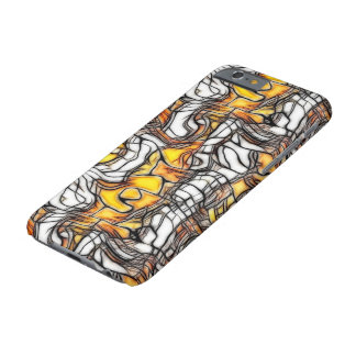 Liquid Gold Abstract Mosaic iPhone 6 Case