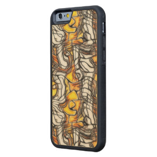 Liquid Gold Abstract Mosaic Phone Case