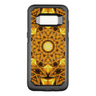 Liquid Gold Mandala OtterBox Commuter Samsung Galaxy S8 Case