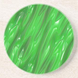 Liquid Green Coaster