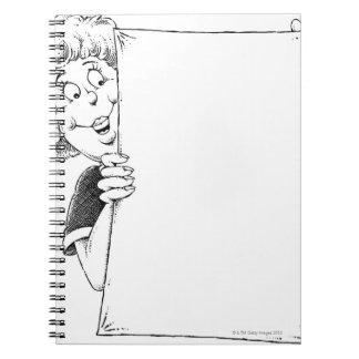 Liquid Library 12 Notebook