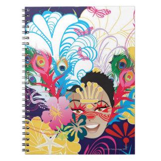 Liquid Library 6 Notebook