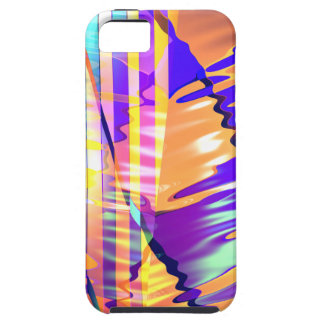 Liquid Lines and Waves iPhone 5 Case