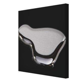 Liquid Mercury Stretched Canvas Prints