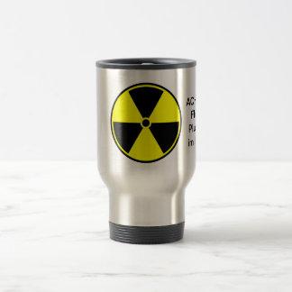 Liquid plutonium stainless steel travel mug