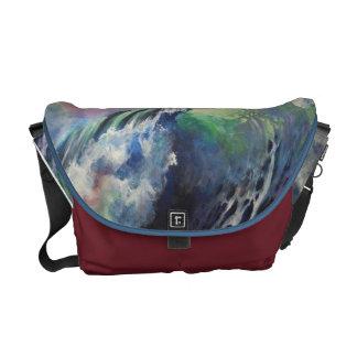 Liquid Rainbow Messenger bag