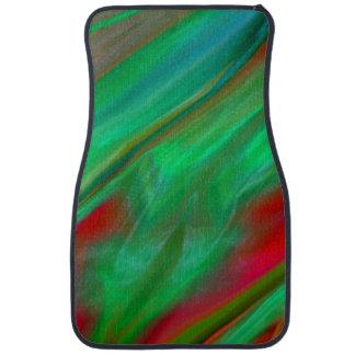 Liquid Silk Color Flow Car Mat