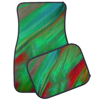 Liquid Silk Colour Flow Car Mat