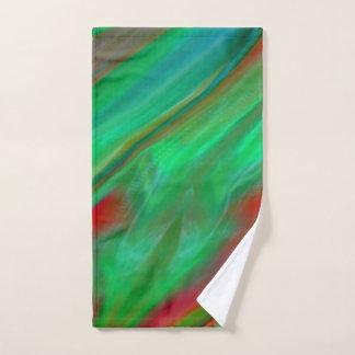 Liquid Silk Colour Flow Hand Towel