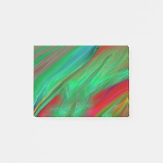 Liquid Silk Colour Flow Post-it Notes