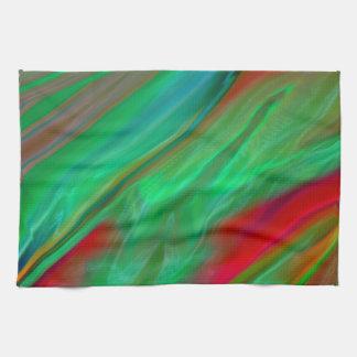 Liquid Silk Colour Flow Tea Towel