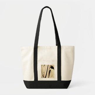 Liquid Silver Impulse Tote Bag