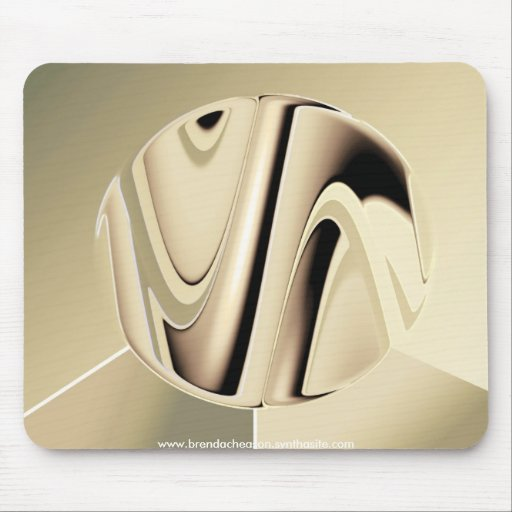 Liquid Silver Mouse Mat