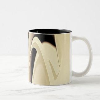 Liquid Silver Two-Tone Mug