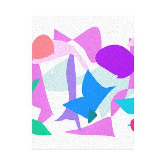 Liquid Smooth Light Plum Grass Associated Canvas Prints