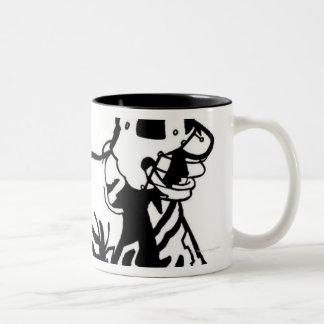 LiquidLibrary 3 Two-Tone Coffee Mug