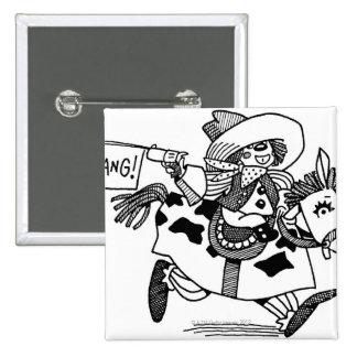 LiquidLibrary 5 15 Cm Square Badge