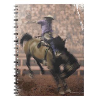 LiquidLibrary 6 Spiral Notebook