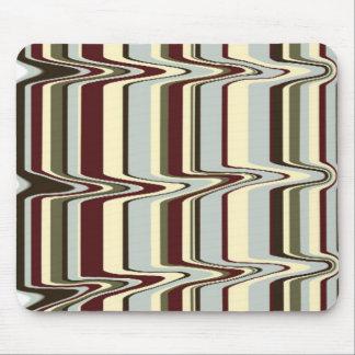 liquify stripe mouse pad
