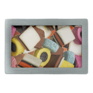 Liquorice All Sorts sweets Belt Buckles