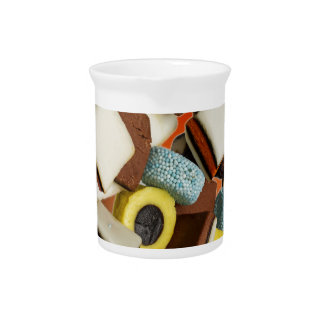 Liquorice All Sorts sweets Pitcher