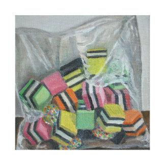 Liquorice Allsorts 2004 Canvas Print