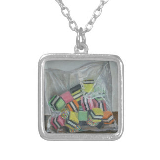 Liquorice Allsorts 2004 Silver Plated Necklace