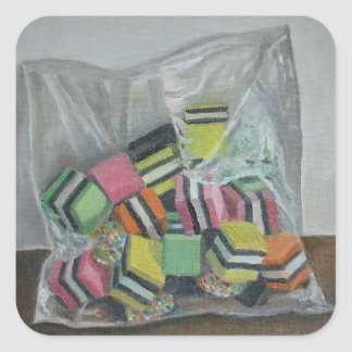 Liquorice Allsorts 2004 Square Sticker
