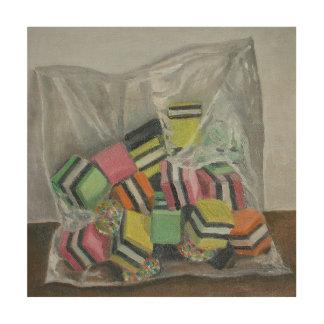Liquorice Allsorts 2004 Wood Canvases