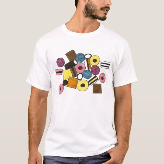Liquorice Allsorts All Sorts Candy Candies Food T-Shirt