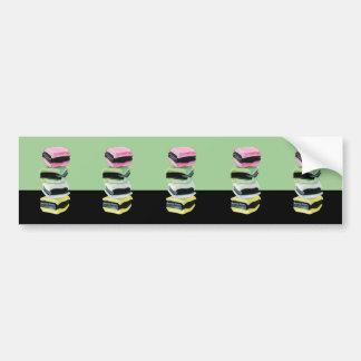 Liquorice Allsorts green cutout Bumper Sticker