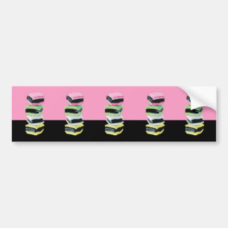 Liquorice Allsorts pink cutout Stickers Bumper Sticker