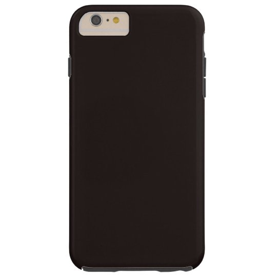Liquorice Black Tough iPhone 6 PLUS Case